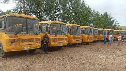 Новый автобусный парк, требующий решения вопроса лицензирования